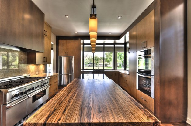 Zebra Wood End Grain San Diego - The Countertop Company